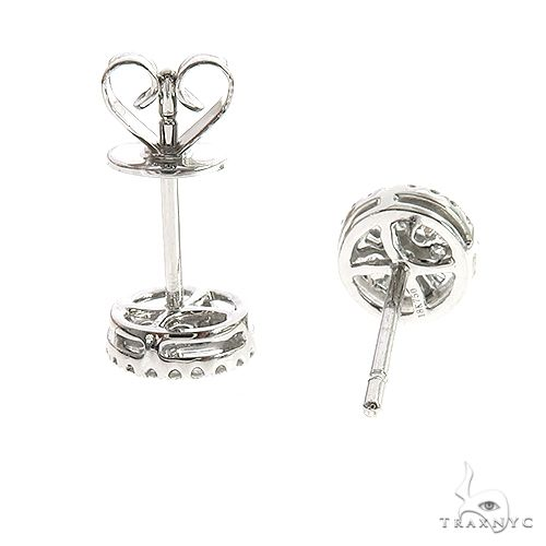 18K Gold Diamond Earrings 66804 Style