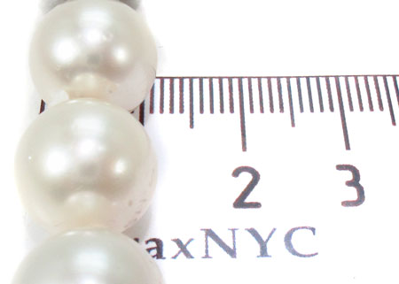 18K Gold Pearl Nacklace 31725 Pearl