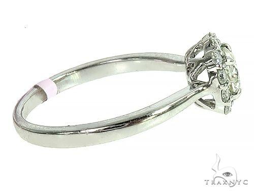 18K White Gold Engagement Diamond Ring 66231 Engagement
