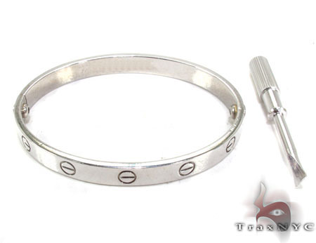 18K White Gold Special Bracelet 32665 Gold
