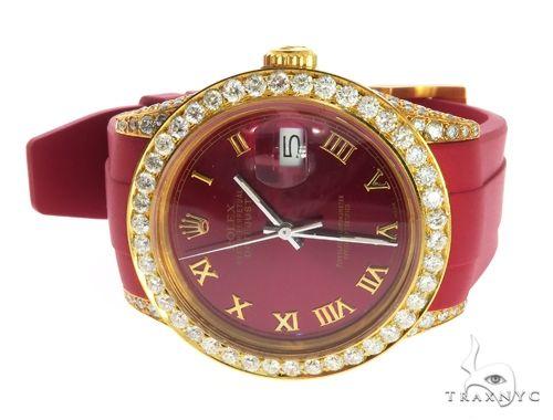 18K Yellow PVD & Stainless Steel Rolex DateJust Watch 63731 Diamond Rolex Watch Collection