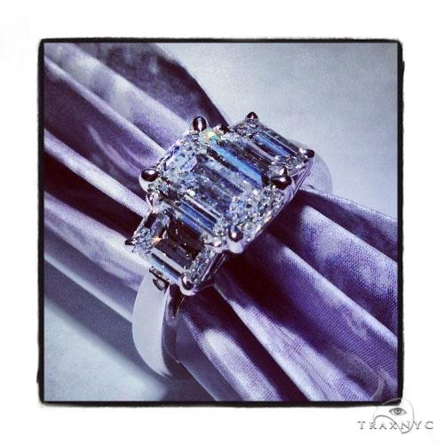 18k White Gold Prong Diamond Wedding Ring-40016 Engagement
