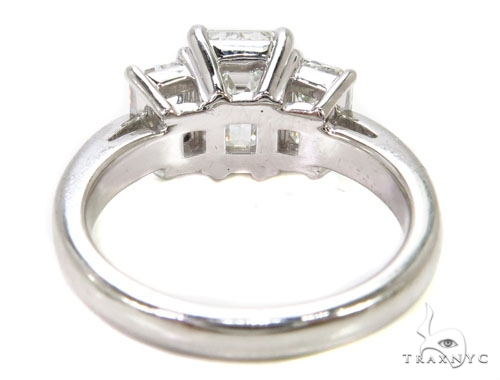 18k White Gold Prong Diamond Wedding Ring-40016 Engagement