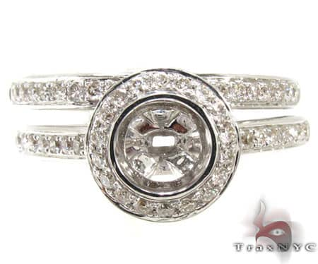 Ladies Semi Mount Ring 19018 Engagement