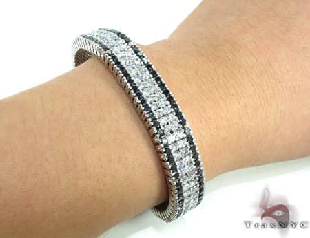Black and White Diamonds Paulie Bracelet 1