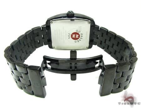 Michele Urban Noir Diamond Watch  MWW02M000047 Michele Diamond Watches