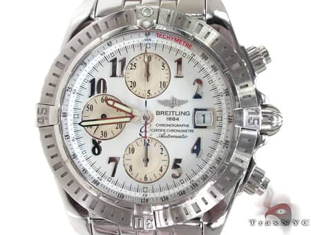 Pre-owned Breitling Windrider Chronomat Evolution Watch Breitling