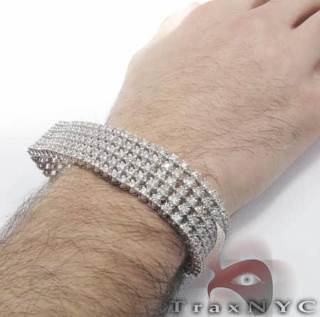 5 Row Toni Bracelet Diamond