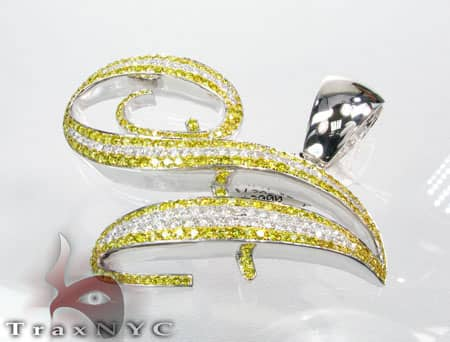 Canary A Pendant Metal