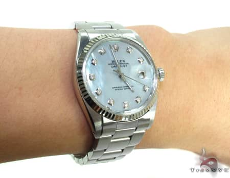 Rolex Datejust White Gold Watch 178274 Diamond Rolex Watch Collection