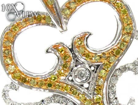 Ladies Diamond Key Pendant 19258 Style