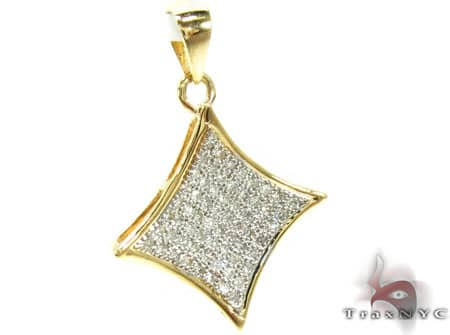 Ladies Diamond Pendant 19269 Stone
