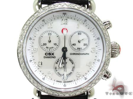 Ladies Michele CSX-36 Day Watch MWW03M000002 Michele Diamond Watches