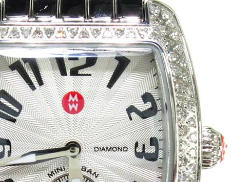 Michele Urban Mini Diamond Steel MWW02A000124 Michele Diamond Watches