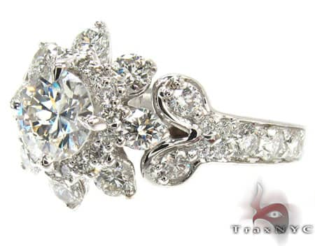Ladies Diamond Ring 19328 Engagement