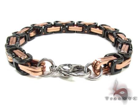 Stainless Steel Bracelet BJS02B RG Stainless Steel
