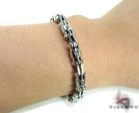 Stainless Steel Bracelet BJB27 Stainless Steel