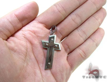 Stainless Steel Cross Crucifix RP25 Stainless Steel