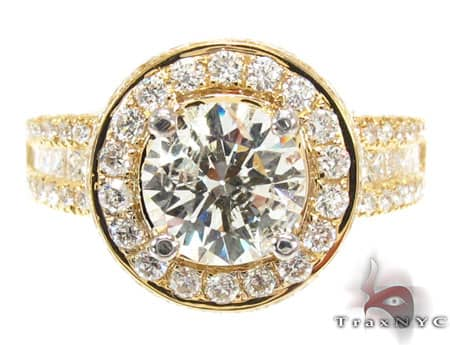 Ladies Diamond Ring 19518 Engagement