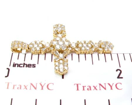 Diamond Cross Crucifix Pendant 19526 Style