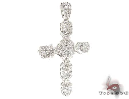 Diamond Cross Crucifix Pendant 19527 Diamond