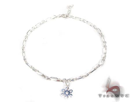 Ladies Silver Bracelet 19610 Silver & Stainless Steel