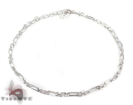 Ladies Silver Bracelet 19611 Silver & Stainless Steel
