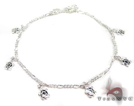 Ladies Silver Charm Bracelet 19614 Silver & Stainless Steel