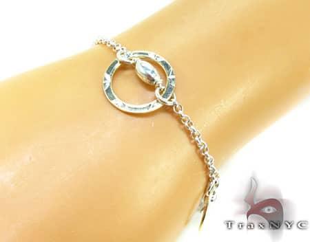 Ladies Silver Bracelet 19621 Silver & Stainless Steel