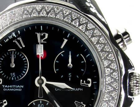 Michele Tahitian Ceramic Watch MWW12A000005 Michele Diamond Watches