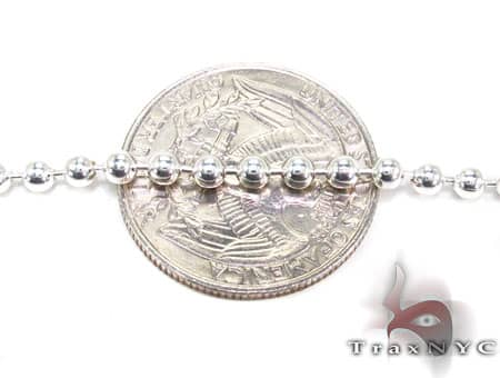 Silver n 20 Inches 2mm 5.9 Grams Silver