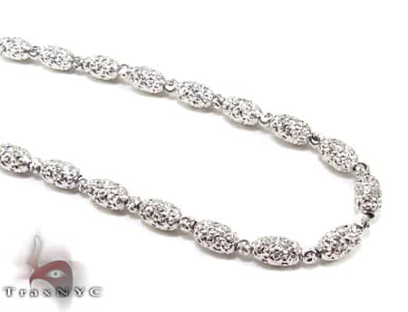 Moon Cut Chain 20 Inches 4mm 14.5 Grams Gold