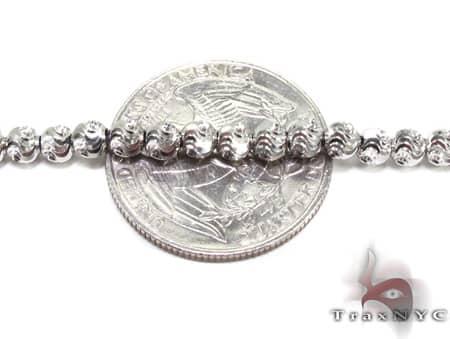 Moon Cut Chain 24 Inches 3mm 19.5 Grams Gold