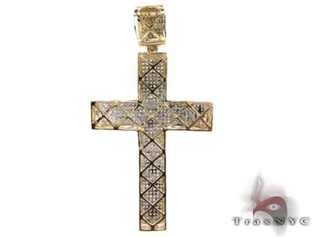 Yellow Gold Ultra Cross Diamond