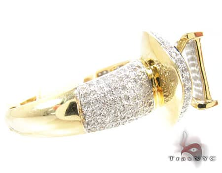 Yellow Gold Avalanche Ring 19921 Anniversary/Fashion
