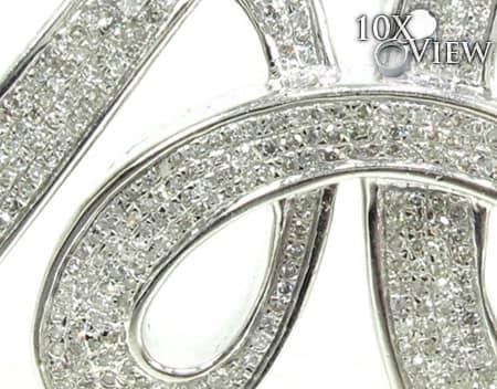 Diamond Initial A Pendant Style