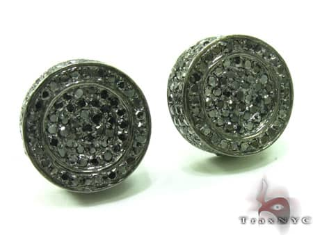 Mens Diamond Earrings 19950 Stone