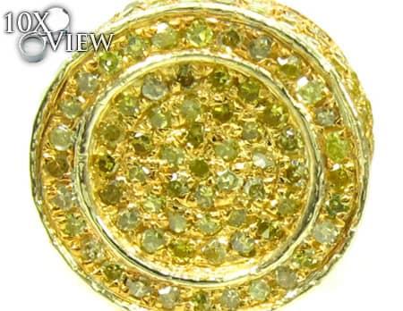 Mens Diamond Earrings 19951 Stone