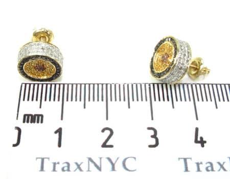 Mens Diamond Earrings 19953 Stone