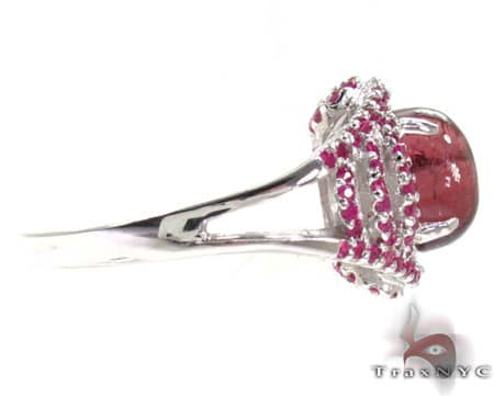 Ladies Silver Gemstone Ring 19964 Anniversary/Fashion