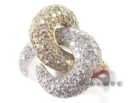 2 Tone Spiral Ring Anniversary/Fashion