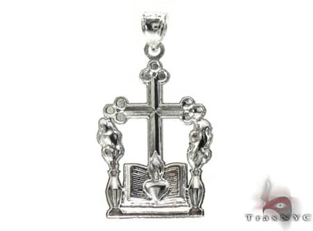 Silver Cross Crucifix 20201 Silver