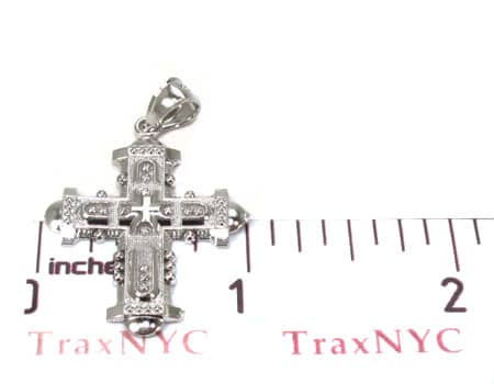 Silver Cross Crucifix 20202 Silver