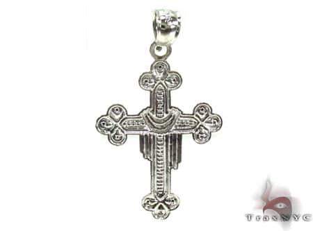 Silver Cross Crucifix 20220 Silver