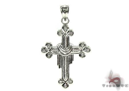 Silver Cross Crucifix 20220 Silver