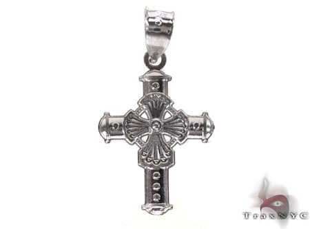 Silver Cross Crucifix 20222 Silver