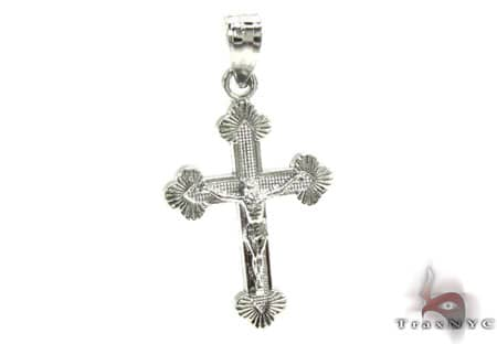 Silver Cross Crucifix 20230 Silver