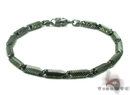 Black Silver Bracelet 20264 Silver