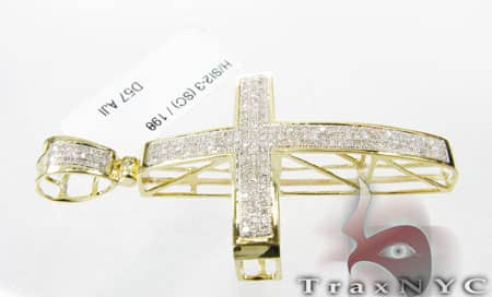 Mini Pave Cross Diamond