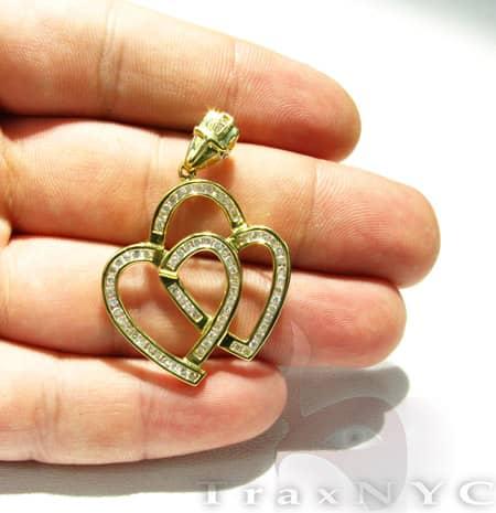 Future Heart Pendant 2 Stone